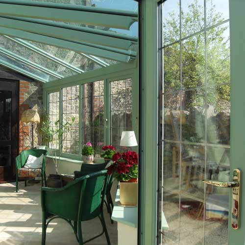 Liniar conservatories are also available in a range of bespoke colours including Grey Black and Chartwell Green. & HX1 Window Supplies - UPVC Window door and Conservatory Suppliers ...